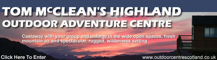 Tom McClean's Highland Outdoor Centre Website